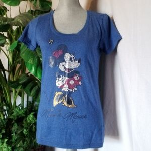 Disney Mini Mouse T-shirt Sz S
